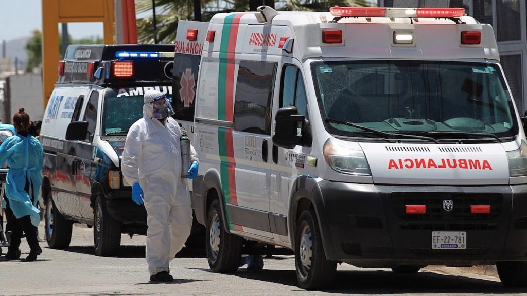 México registró en las últimas 24 horas 549 muertes y 4 mil 639 casos de COVID-19 - Estado de la pandemia de COVID-19 en México. Foto de EFE