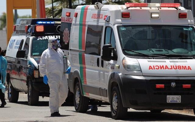México registró en las últimas 24 horas 9 mil 452 casos y 266 muertes por COVID-19 - Estado de la pandemia de COVID-19 en México. Foto de EFE