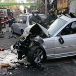 Choque de BMW a exceso de velocidad en Periférico Oriente deja dos muertos