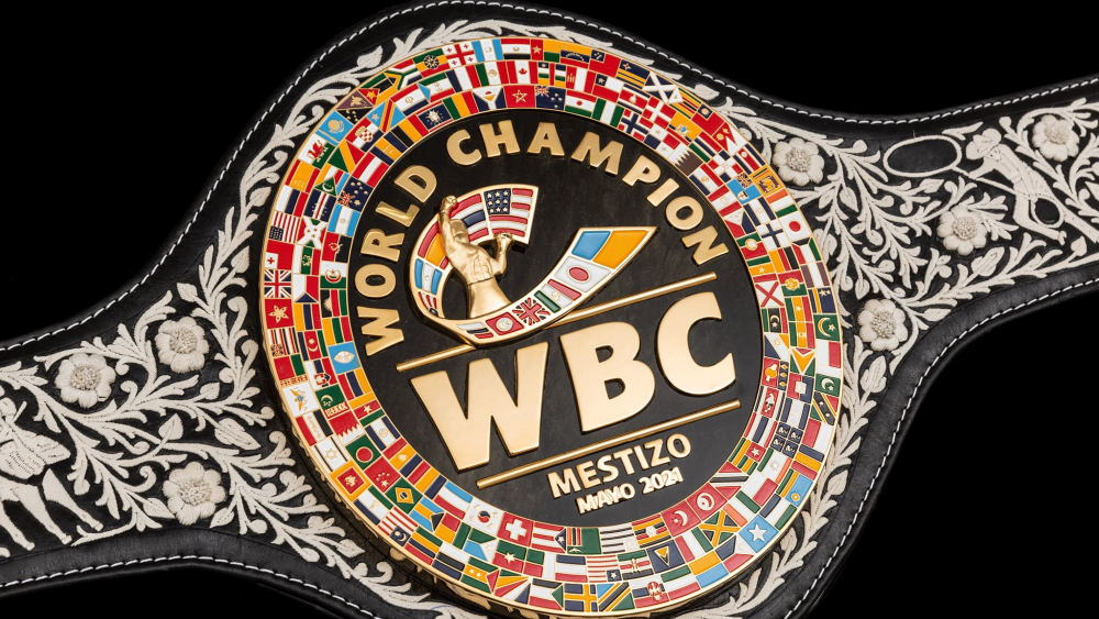 Los cinturones conmemorativos WBC, por Mauricio Sulaián - cinturón CMB WBC cinturones