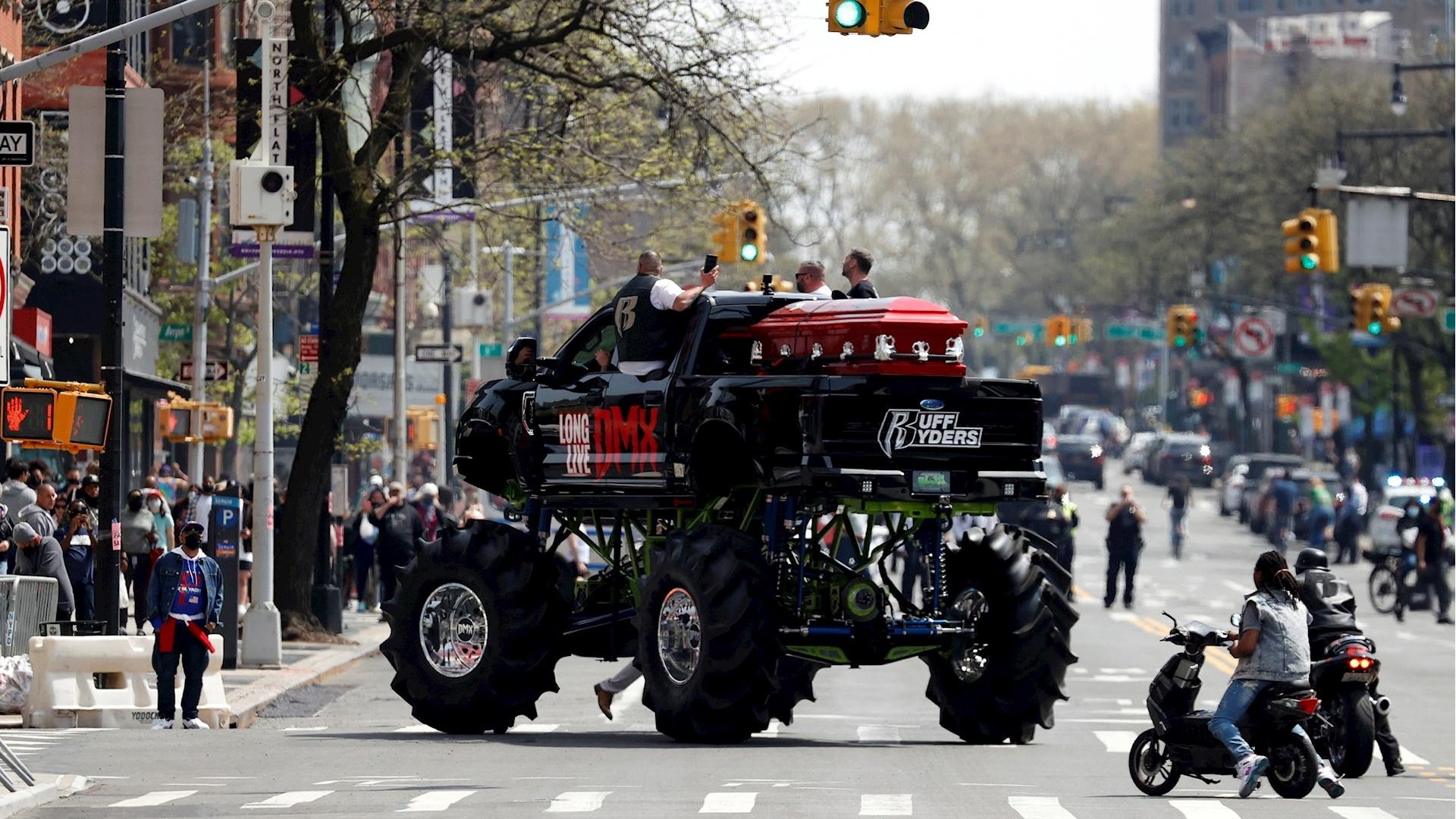DMX Funeral Nueva York rapero