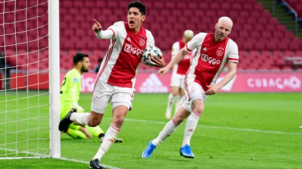 Edson Álvarez le da el empate al Ajax y lo acerca al título - Edson Alvarez Ajax