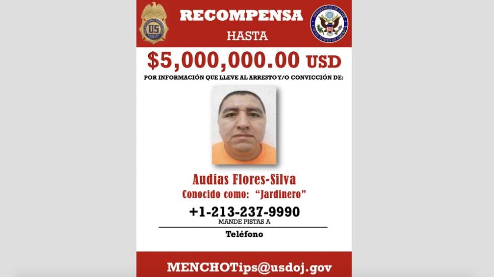 EE.UU. ofrece recompensa por 'El Jardinero', líder del CJNG - recompensa El Jardinero CJNG Cartel Jalisco