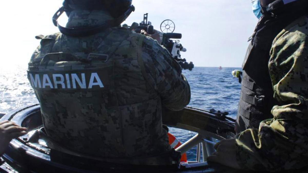 Elementos de la Secretaría de Marina marinos Semar 2