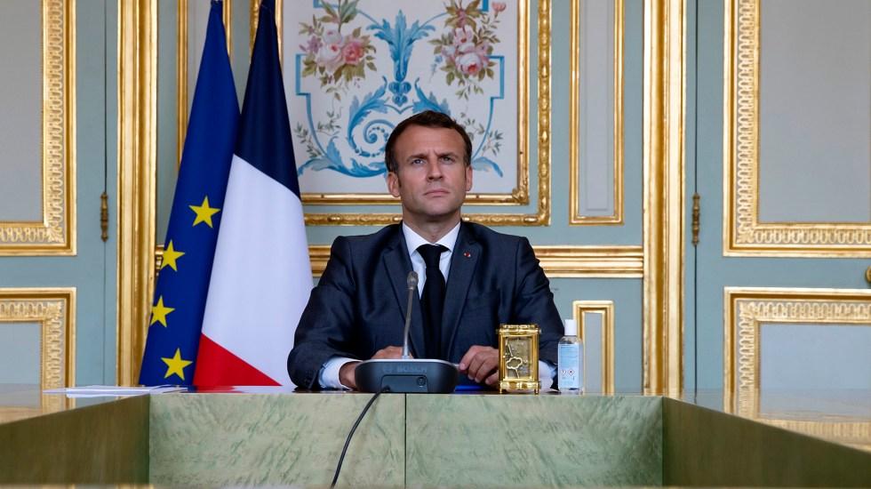 Macron pide 'acelerar la aplicación de los Acuerdos de París - Emmanuel Macron, presidente de Francia. Foto de EFE