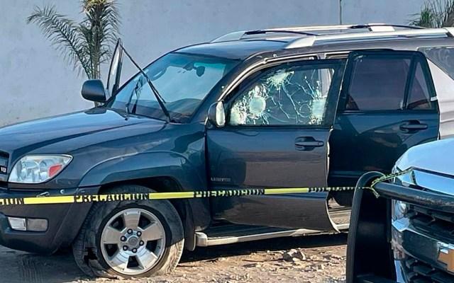 Suman 82 mil 468 homicidios dolosos en lo que va del sexenio - Escena del crimen por tiroteo en Irapuato, Guanajuato. Foto de EFE