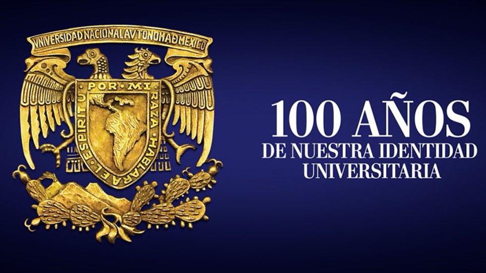 Afirma Enrique Graue que escudo y lema de la UNAM convocan a la unidad - Escudo y lema de la UNAM