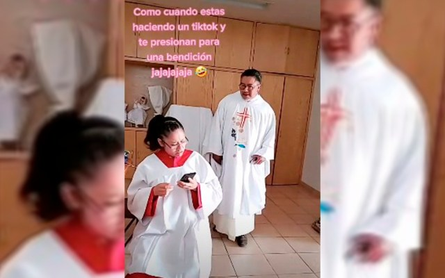 El 'Padre Cheke', el sacerdote mexicano que arrasa en TikTok - Ezequiel Padilla, mejor conocido como 'Padre Cheke' en TikTok
