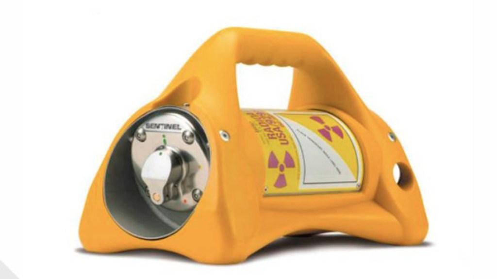 Alerta por robo de equipo de radiografía industrial en Teoluyucan, Edomex - Fuente radiactiva robada en Edomex. Foto de CNPC