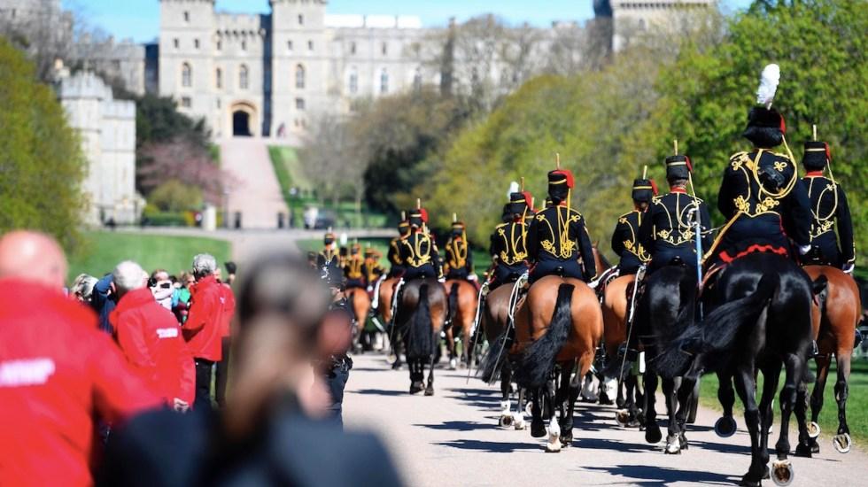 Familia real británica despide al duque de Edimburgo en Windsor - Funeral del duque de Edimburgo. Foto de EFE
