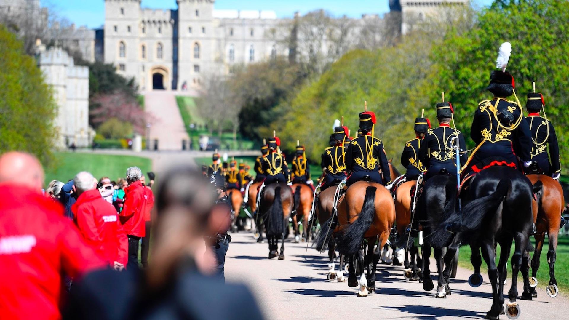 Funeral del duque de Edimburgo. Foto de EFE