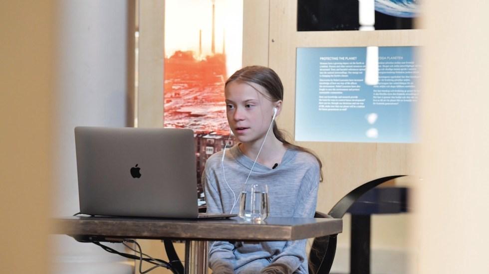 Ignorar crisis climática pasará factura, advierte Greta Thunberg - La activista Greta Thunberg. Foto de EFE
