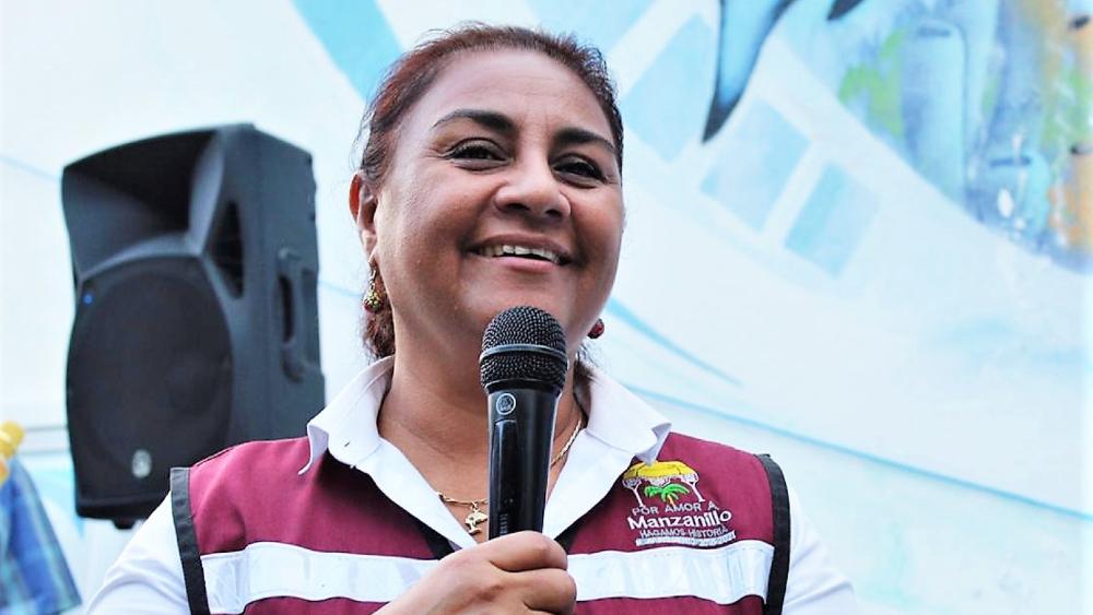 #Video Candidata de Morena incita a la violencia en Manzanillo, Colima - Griselda Martínez Manzanillo