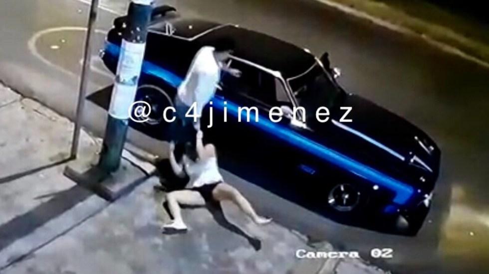 Un funcionario no puede laborar en gobierno si violenta a mujeres: AMLO - Guardia Nacional mujeres CDMX agreson Coapa