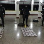 Decomisan más de 100 kilos de cocaína en Guatemala