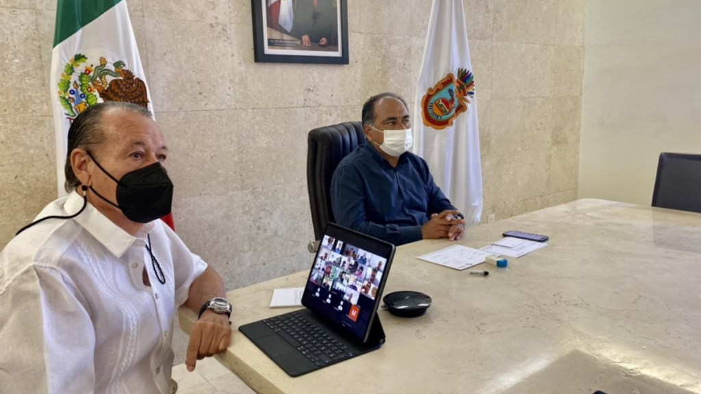 Pide Héctor Astudillo mantener vigilancia en carreteras de Guerrero ante flujo de turistas - Héctor Astudillo Guerrero carreteras mesas paz