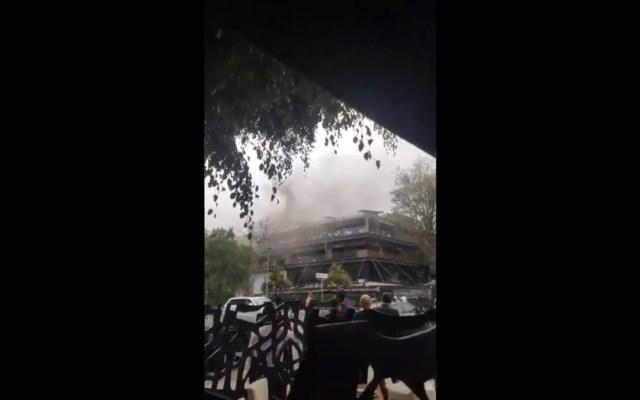 Se incendia La Buena Barra en Polanco - Incendio Buena Barra Polanco