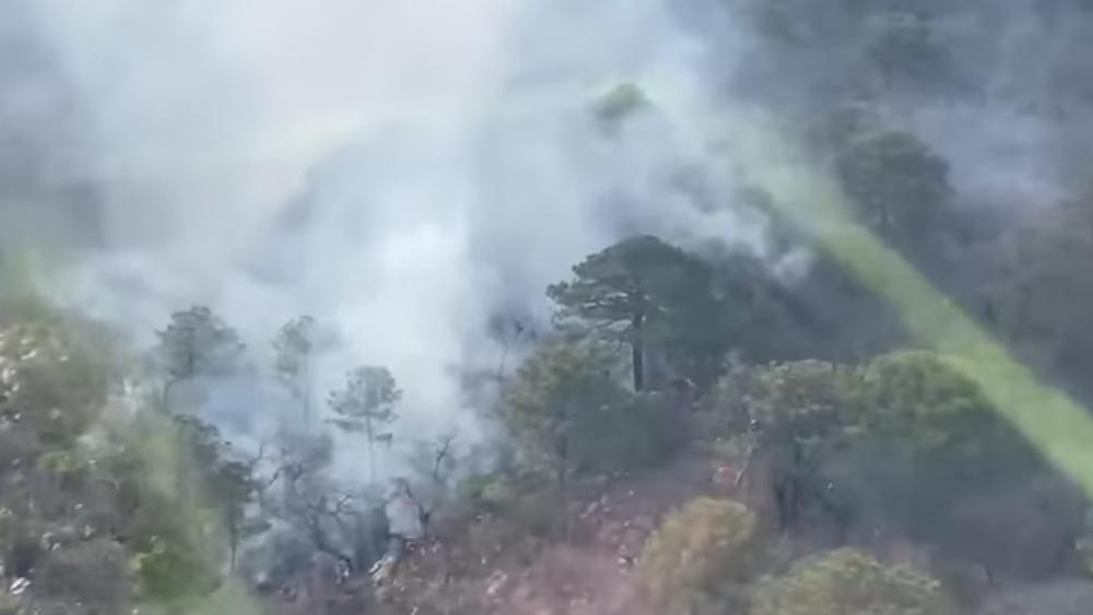 Se registra incendio forestal en Rayones, Nuevo León - incendio forestal Rayones Nuevo León