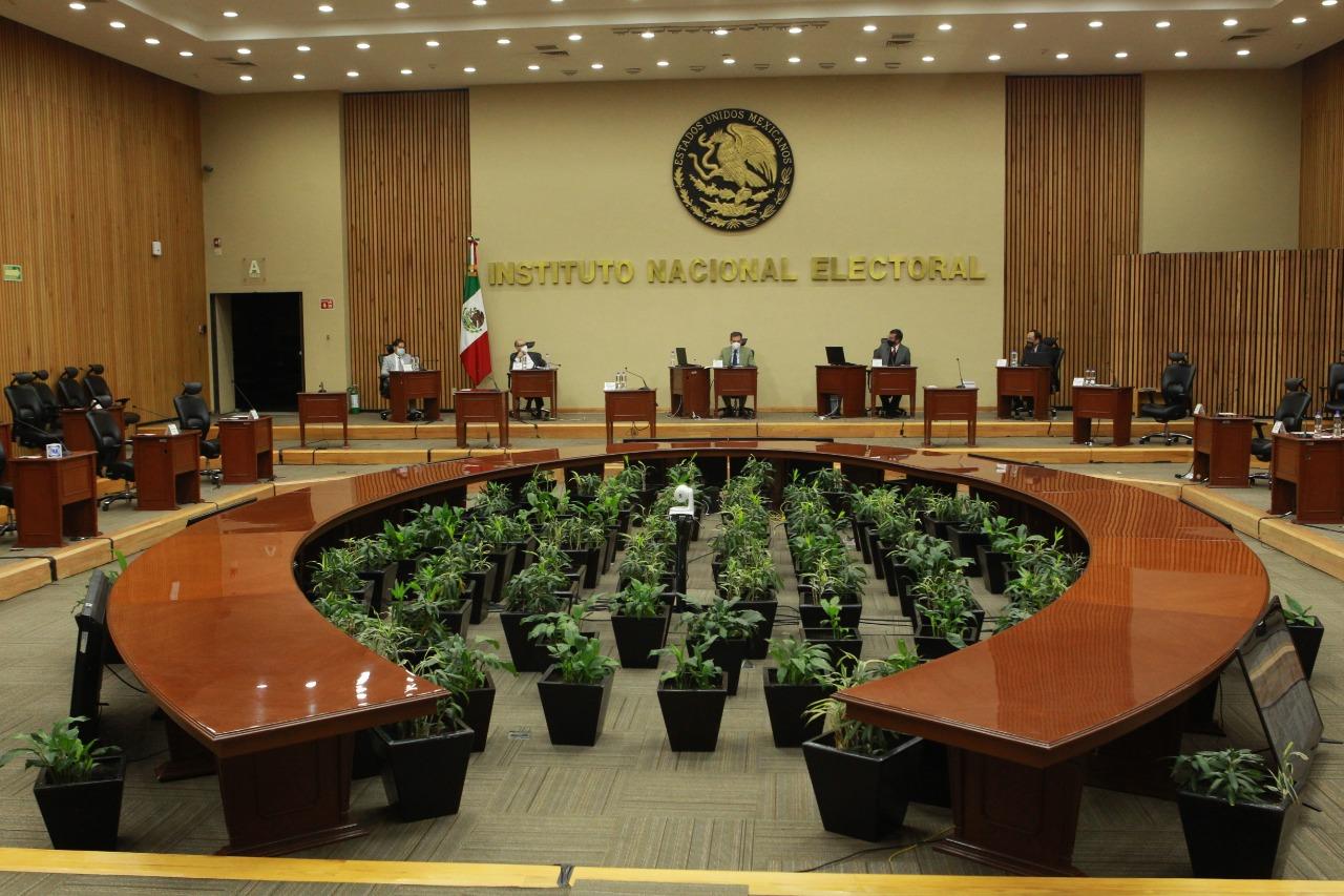 INE Instituto Nacional Electoral sesion