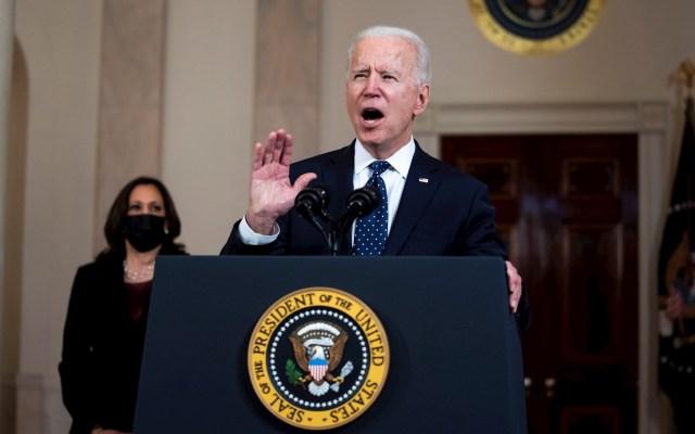 """Biden celebra veredicto contra expolicía que mató a George Floyd, """"pero no es suficiente"""" - Joe Biden Estados Unidos presidente"""