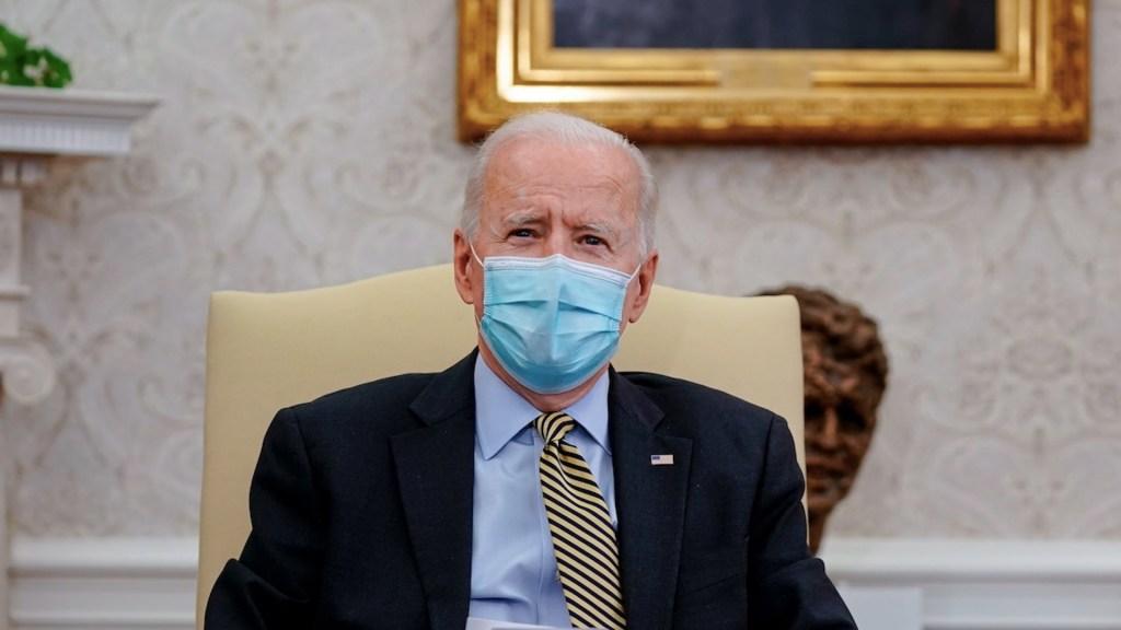 Biden estaría dispuesto a quitar parte de sanciones que Trump impuso a Irán - El presidente de Estados Unidos, Joe Biden. Foto de EFE