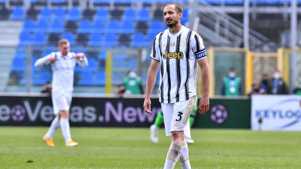 Juventus se estrella contra Atalanta; en duda su participación en la Champions - Juventus Atalanta partido 180420211