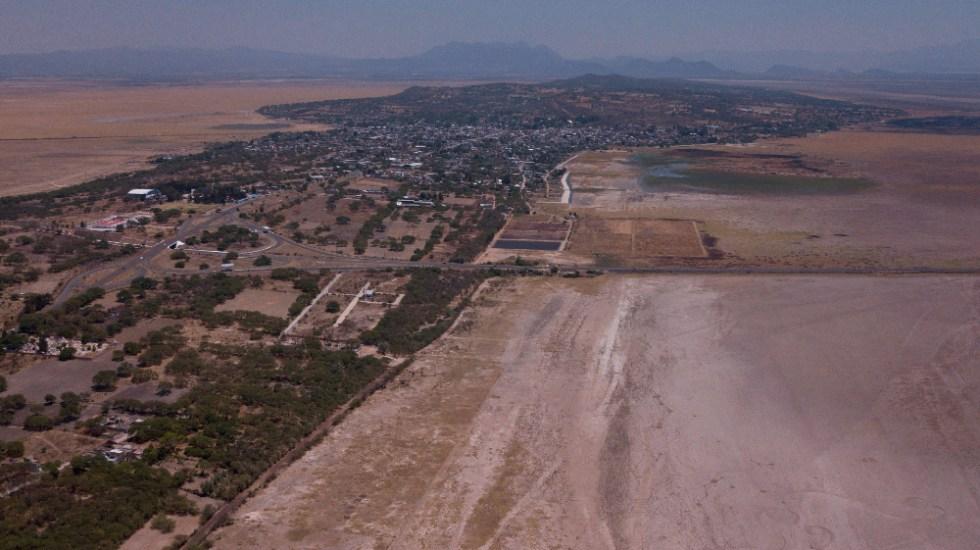 Agoniza el milenario lago de Cuitzeo, el segundo más grande de México - lago de Cuitzeo