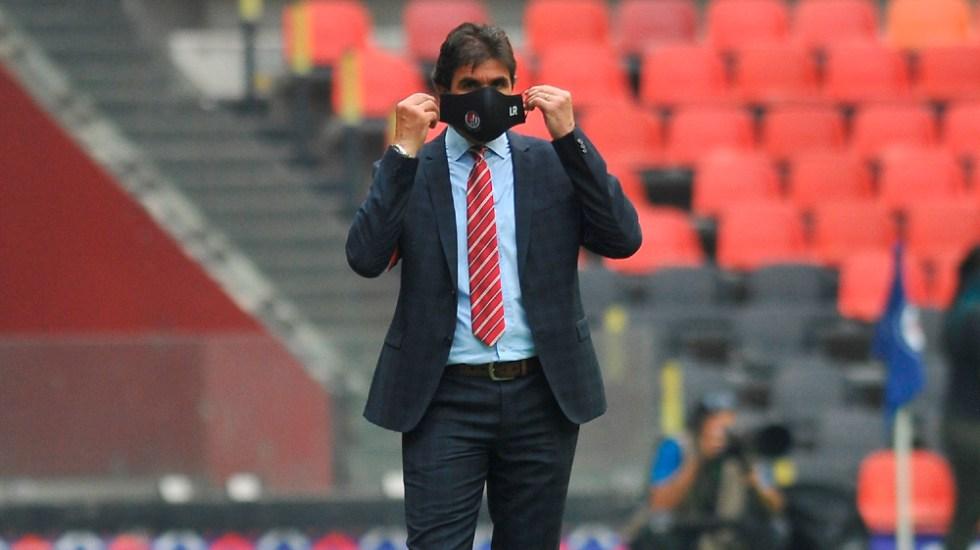 San Luis despide al entrenador uruguayo Leonel Rocco - Leonel Rocco San Luis