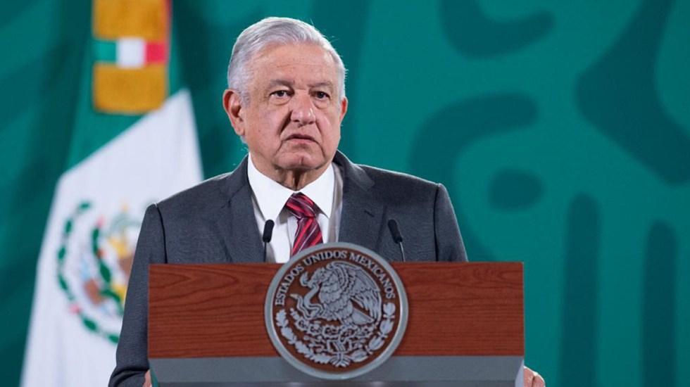 INE responde al presidente López Obrador: entregó ayer por la tarde apercibimiento - López Obrador en su conferencia de prensa del 23 de abril. Captura de pantalla