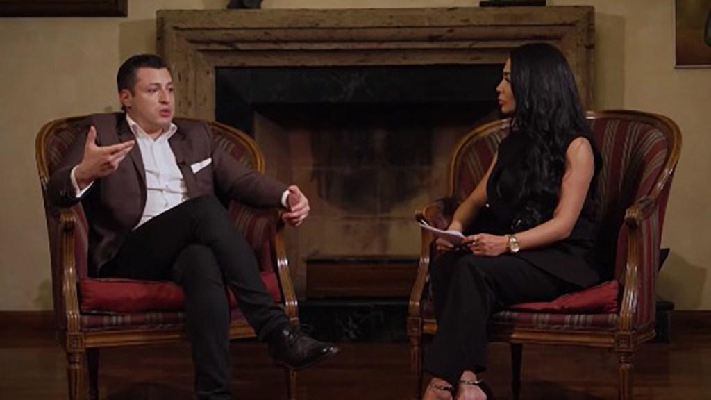 #Video Luis Donaldo Colosio Riojas revela por qué no quiere que gane el PRI - Luis Donaldo Colosio Riojas en entrevista. Captura de pantalla