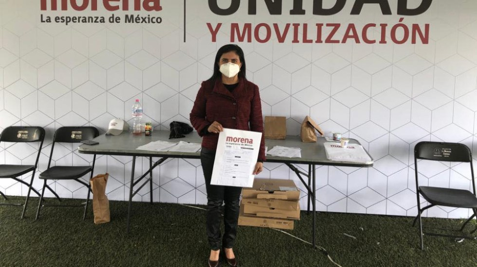 Confirma TEPJF candidatura de Manuela Obrador, prima de AMLO - Manuela Obrador Narváez