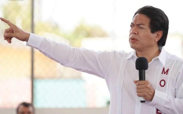 Detienen y apuntan con armas largas a Mario Delgado durante recorrido en Tamaulipas - Mario Delgado Carrillo. Foto de @mariodelgadocarrillo
