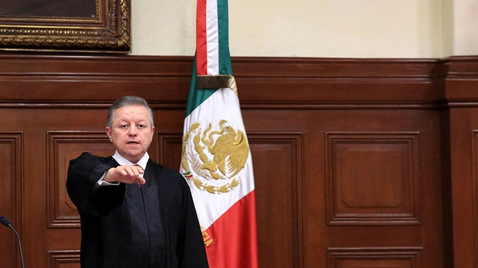 Ministro Zaldívar se excusará de discusión sobre ampliación de mandato; afirma que se vive una 'normalidad constitucional' - Ministro Arturo Zaldívar. Foto de SCJN