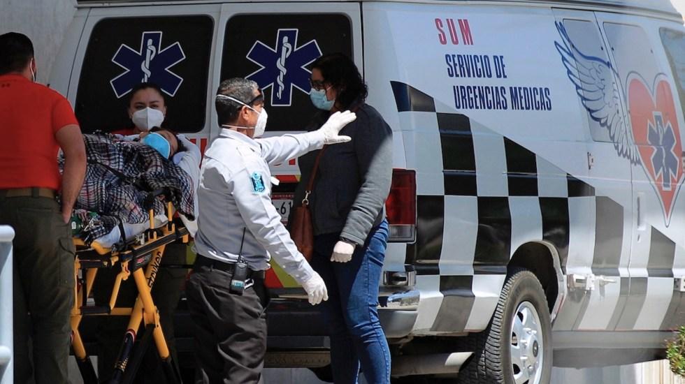 "Tercera ola de COVID-19 ""parece menos probable"", afirma López-Gatell - Casos de COVID-19 en México. Foto de EFE"