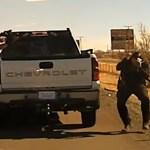 #Video Sujeto asesina a policía en Nuevo México; termina abatido