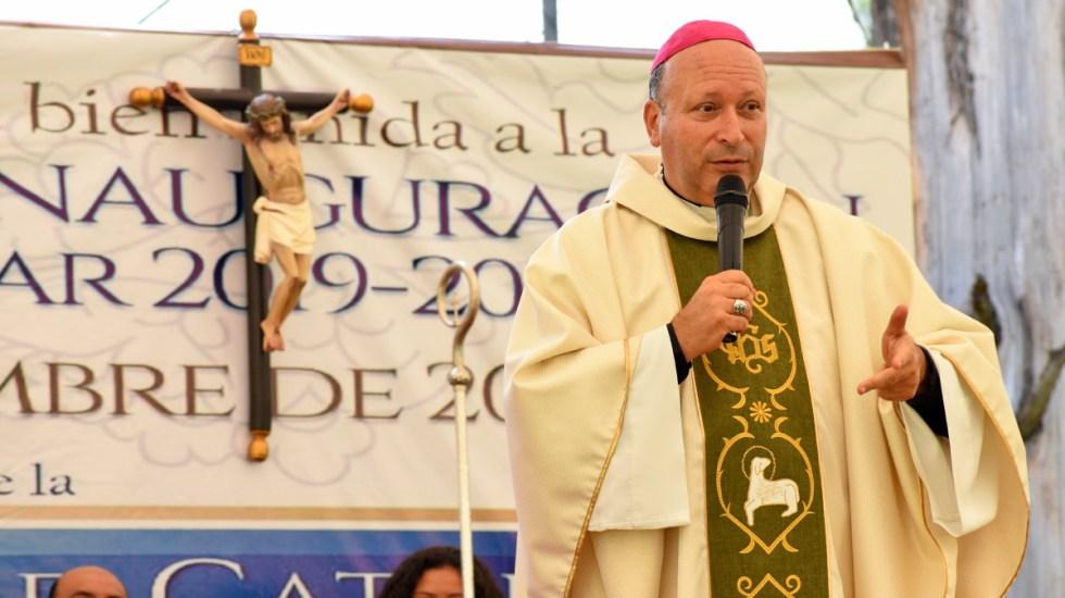 Nuncio apostólico viaja a Tierra Caliente en Michoacán - Nuncio apostólico Franco Coppola