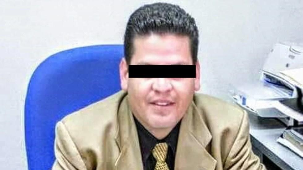 Otorgan amparo a presunto agresor de maestra en clase virtual - En la imagen, Octavio Alonso, presunto agresor de profesora de la UAEMex
