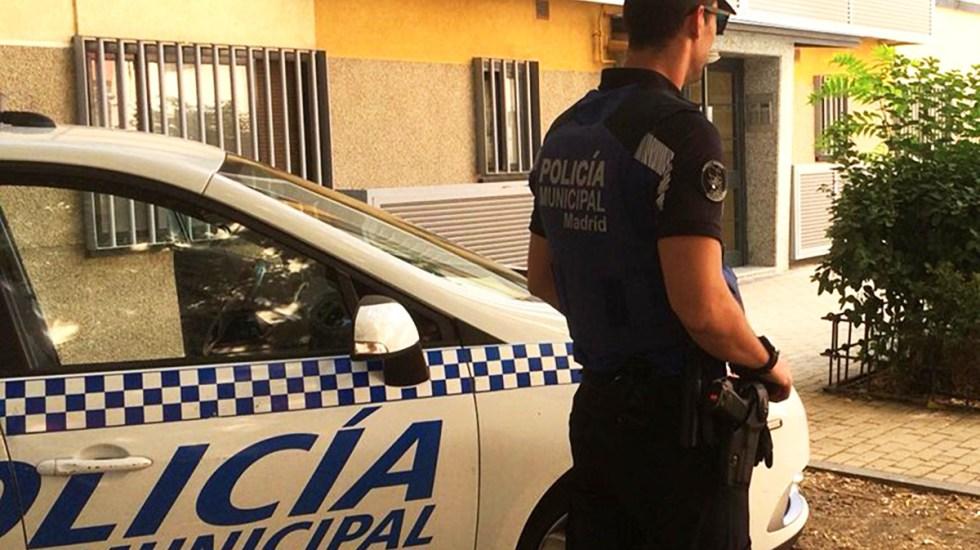 Detienen a 13 hombres en Madrid por violación a adolescente de 16 años - Policía de Madrid. Foto de @policiademadrid