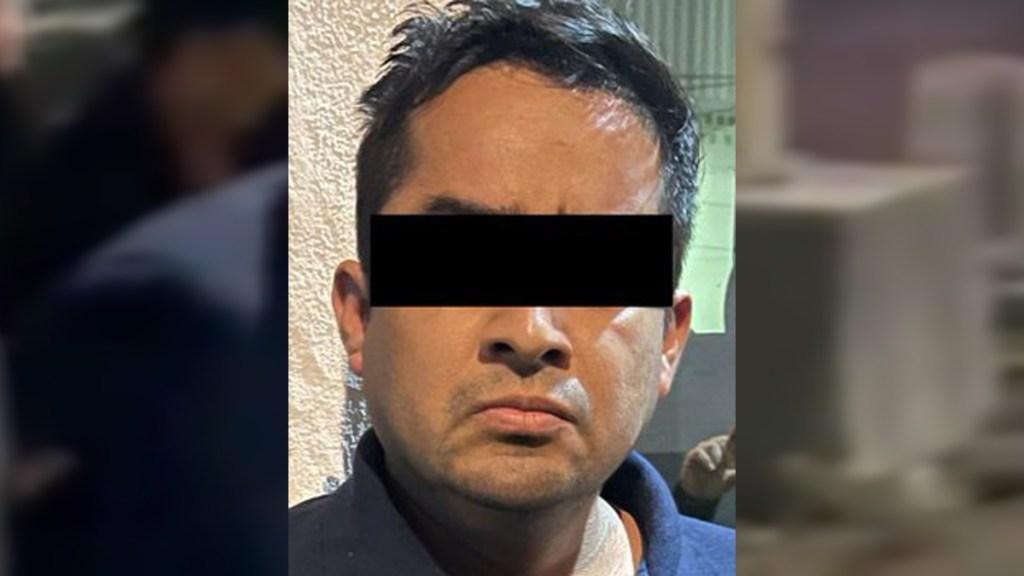 #Video Detienen al secuestrador de la niña Sofía Abigail en Nuevo León - Presunto secuestrador de Sofía Abigail en Nuevo León. Foto de Fiscalía Nuevo León