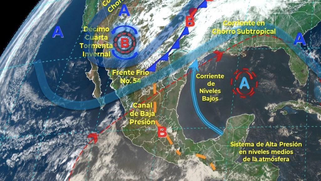 Alerta de tornados y tormentas para Coahuila, Nuevo León y Tamaulipas - Alerta de tornados y tormentas para Coahuila, Nuevo León y Tamaulipas. Foto de Conagua