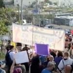 Crecen las protestas por el desalojo de familias palestinas en Jerusalén - Crecen las protestas por el desalojo de familias palestinas en Jerusalén Este. Foto de EFE