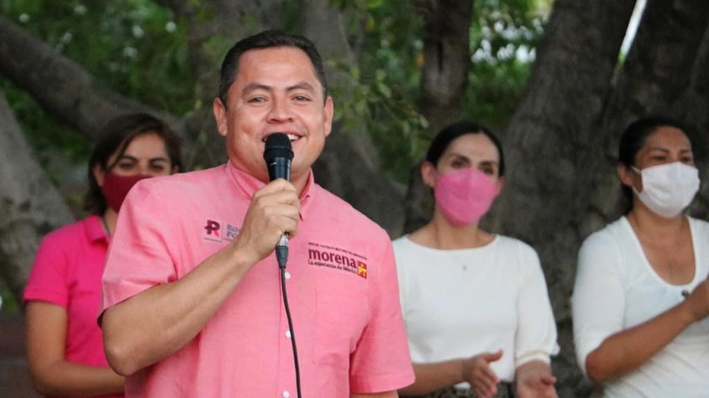 Autoridades de Michoacán investigan si candidato de Morena es buscado por la DEA - Rogelio Portillo Jaramillo candidato morena