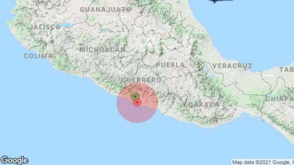 Sismo magnitud 4.0 sacude Acapulco, Guerrero; Protección Civil activa protocolos - Sismo en Acapulco. Foto de Sasmex