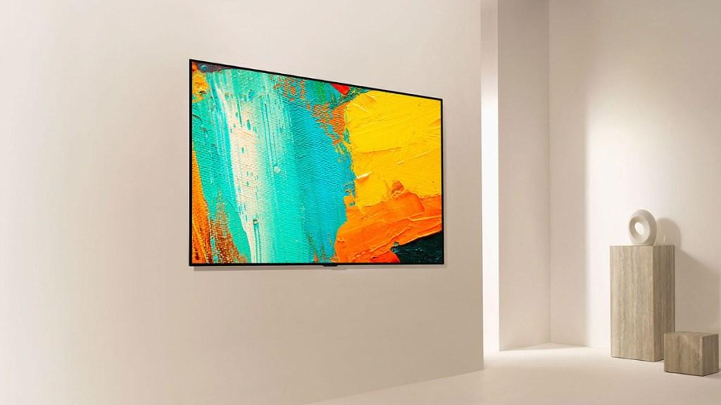 Diseño y calidad de imagen, características insuperables de los televisores LG OLED - Televisor de LG. Foto de LG