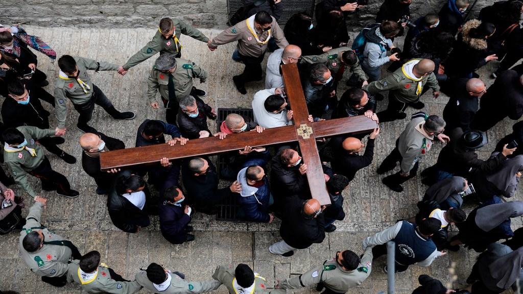 Así transcurrió el viacrucis en Jerusalén - viacrucis jerusalén