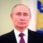 Putin presume del poderío de Armada rusa en desfile naval - Vladimir Putin, presidente de Rusia. Foto de EFE