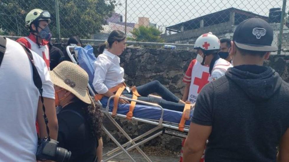 Atropellan en Morelos a candidata de Movimiento Ciudadano - Zaira Fabela Beltrán candidata