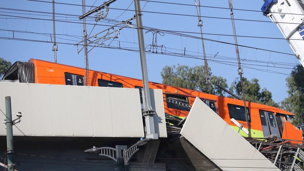 Habrá justicia en colapso de la Línea 12 del Metro: López Obrador - Accidente línea 12 Metro Ciudad de México