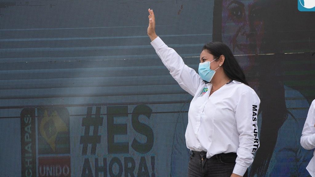 #Video Liberan a candidata de Cintalapa, Chiapas - Alejandra Aranda, candidata a la alcaldía de Cintalapa, Chiapas. Foto de @AlejandraArandaOficial