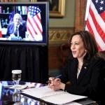 Diálogo del presidente López Obrador con vicepresidenta de Estados Unidos, Kamala Harris